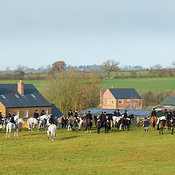 The Cottesmore Hunt at Owston 19/11