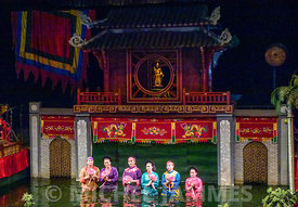 Thang Long Water Puppet Theatre Hanoï