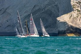 Flawless J, With Alacrity and Imadjinn, Round The Island Race 2019, 20190629144