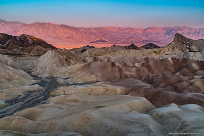Sunrise at Zabriskie Point (detail)- California