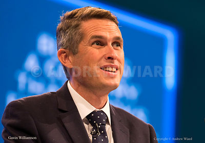 England, UK .4.10.2017. Manchester . Conservative Party Conference, Wednesday. Prime Minister Theresa May's speech. Gavin Wil...