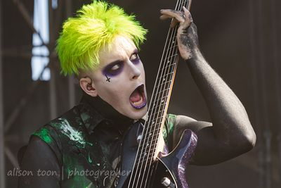 Justin Morrow, bass, Motionless In White