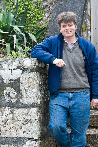 Richard Morton, Head Gardener. Trewidden, Buryas Bridge, Penzance, Cornwall, UK