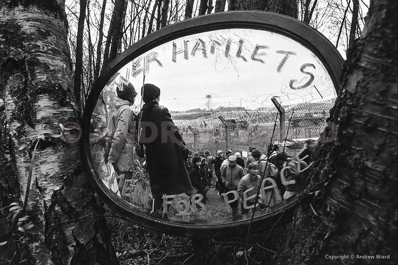 December 11th 1983, Greenham Common. 50,000 women encircle the base just over three weeks after the first cruise missiles arr...