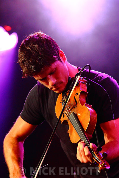 Seth Lakeman performing live at Cambridge Folk Festival