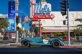 Morgan Motor Co.  In California 2019 'Getting There'