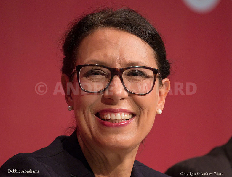 England, UK . 25.9.2017. Brighton. Labour Party Conference Monday. Debbie Abrahams..
