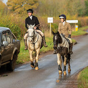 The Cottesmore Hunt at Stapleford 17/11