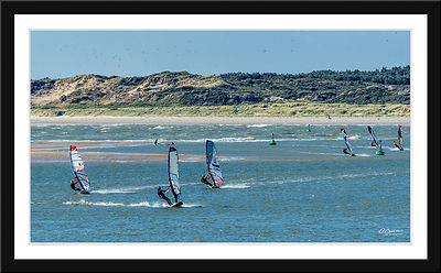 La Photo de la semaine - Lundi 04/07/2016 : Windsurf en Baie de Canche © 2016 Olivier Caenen, tous droits reserves