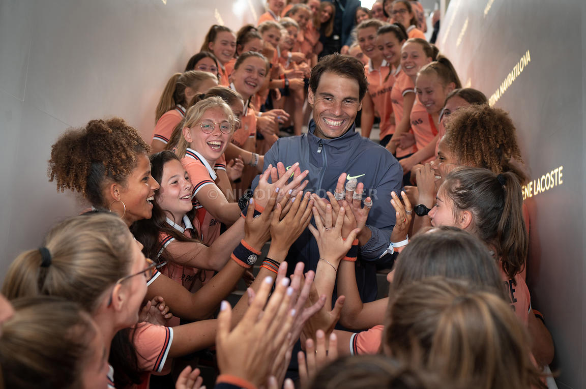 Rafael Nadal, Roland Garros 2019, Simple Messieurs, Finale, Photo : Nicolas Gouhier / FFT