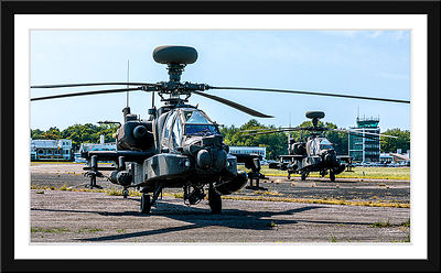 La Photo de la semaine 07/07/2019 : Boeing AH64 Apache British Army