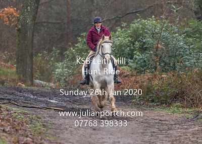 KSB Leith Hill Hunt Ride 260120