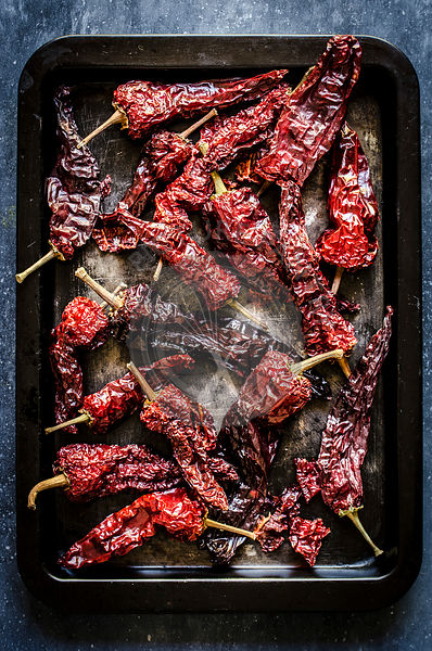 Dried peppers Peperoni Cruschi