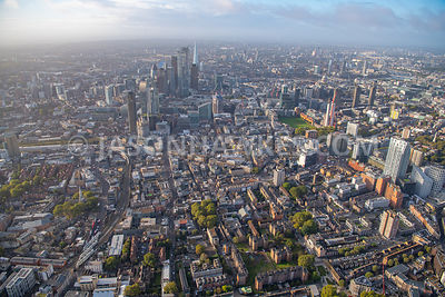 Old St, London, aerial view