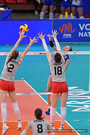 ITALY vs BULGARIA - VNL / Volleyball Nations League 2019 Women's - Pool 13, Week 4.