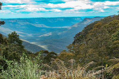 Le Grand Canyon des Blue Mountains en Nouvelles Galles du Sud