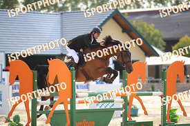 TENEV Apostol (BUL) and FORTH OF JULY during LAKE ARENA Equestrian Summer Circuit II, CSI2* - Good Bye Competition - 140 cm, ...
