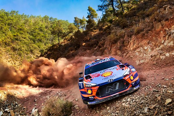 2020 FIA World Rally Championship.Round 05, Rally Turkey.18 - 20 September 2020.Sebastien Loeb..Photographer: Austral.Worldwi...