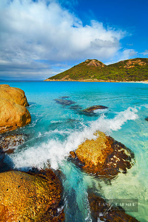 Beach impression at Little Beach - Australia, Australia, Western Australia, Southwest, Two Peoples Bay Nature Reserve, Little...