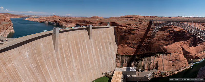 Glen Canyon dam - Arizona