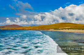 Beach impression Rubha Romaigidh on Harris - Europe, United Kingdom, Scotland, Outer Hebrides, Harris, Rubha Romaigidh (Highl...