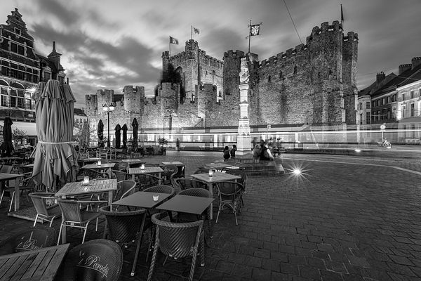 Haunted castle - Gravensteen Castle, Ghent