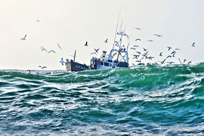 photos of fishing boats in France