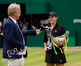 Nature Valley Classic 2019, Tennis, Birmingham, Great Britain - June 23