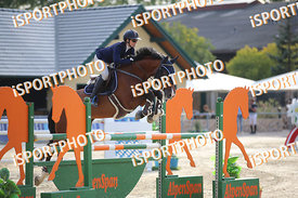 GRUM Lidija (SLO) and LG LEO during LAKE ARENA Equestrian Summer Circuit II, CSI2* - Good Bye Competition - 140 cm, 2019. 08....