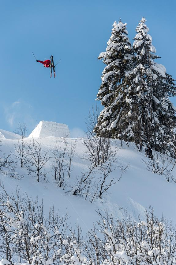 Huge backcountry 360 with Loic Collomb-Patton