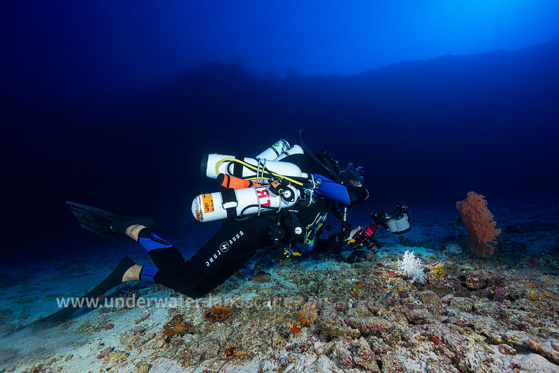 Rebreather photographer