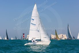 Ziggy, GBR4069T, Jeanneau Fun 23, Round The Island Race 2019, 20190629586