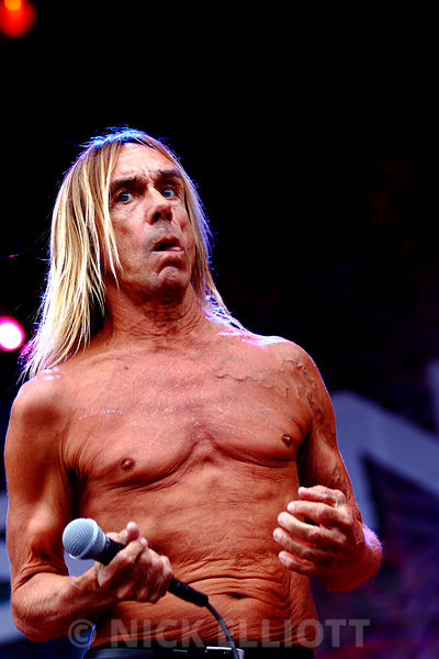 Iggy Pop at Sonisphere on 1 August 2010