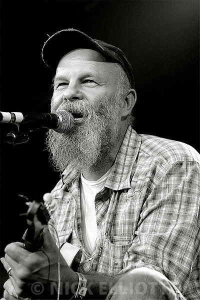 Seasick Steve performing live at Cambridge Folk Festival 26 July 2007