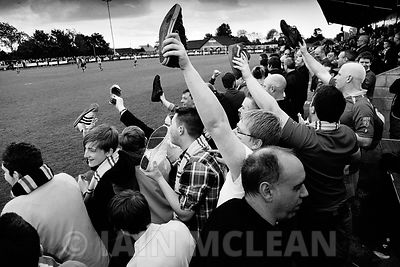 22.5.11.Annan 2-1 Albion Rovers..A day of celebrations started at Galabank Stadium in Annan when Rovers lost 2-1 but won 4-3 ...