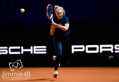 2021 Porsche Tennis Grand Prix Pre-Tournament