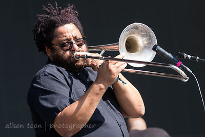 Christopher Dowd, trombone and vocals, Fishbone