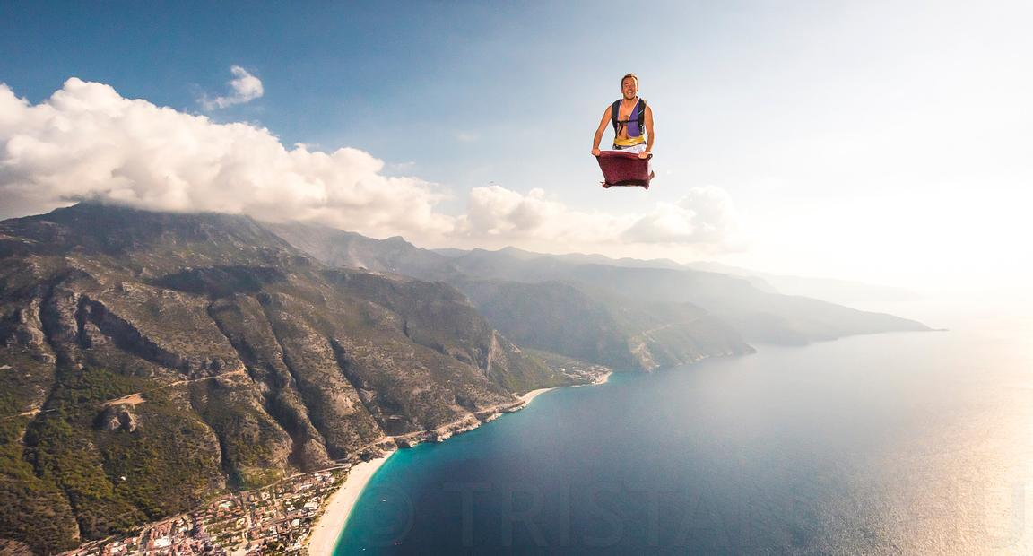 Aladin's Flying Carpet with Guillaume Galvani