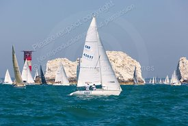 Ziggy, GBR4069T, Jeanneau Fun 23, Round The Island Race 2019, 20190629590