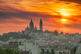 butte_bergeyre_sacre_coeur_toits_sunset_coucher_nuage_orange