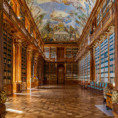 Strahov Library, Prague, Philosophical room (1794)