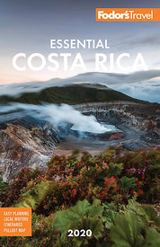 Cover Fodors Travel guidebook Costa Rica 2020