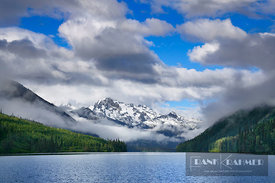 Mountain landscape with Joffre Peak at Duffey Lake - North America, Canada, British Columbia, Squamish-Lillooet, Duffey Lake ...