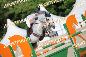 FRIES Rudolf Michael (AUT) and JULE DE LAUZELLE  during LAKE ARENA - Equestrian Summer Circuit 1 - 2019, CSI2* - Good Bye Com...