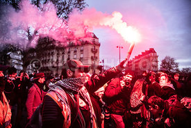 FRANCE : DEUXIEME MANIFESTATION NATIONALE CONTRE LA REFORME DES RETRAITES PARIS | SECOND NATIONAL MANIFESTATION AGAINST PENSI...