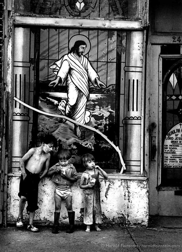 Broken Christ With Children, 1950