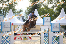 BETTSCHEN Pascal (SUI) and CANDY MAN V during LAKE ARENA Equestrian Summer Circuit II, CSI2* - Good Bye Competition - 140 cm,...
