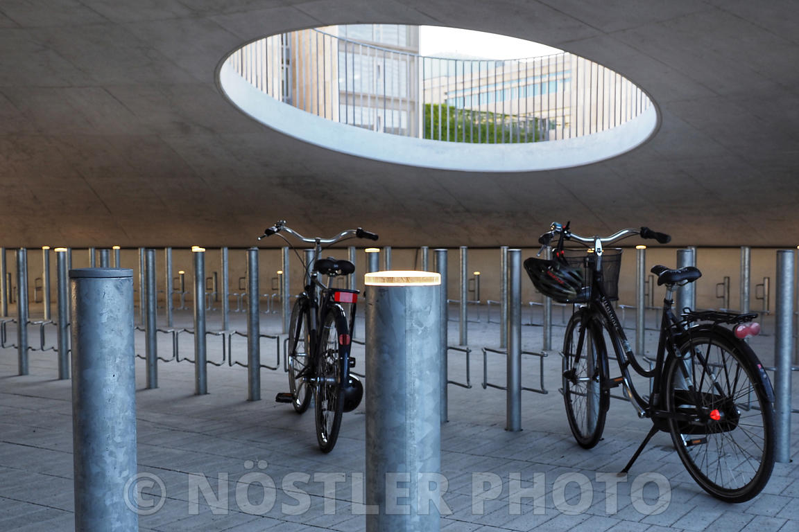 Multi functional bicycle parking