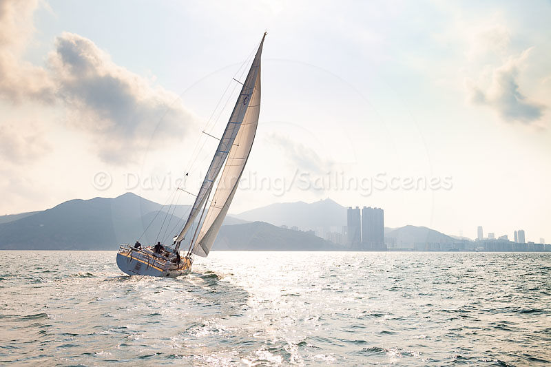 On the water in Hong Kong