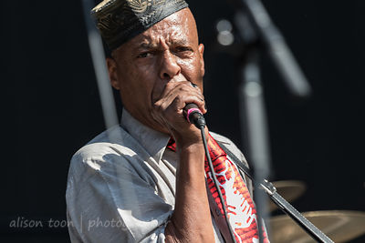 Angelo Moore, vocals and sax, Fishbone